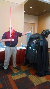 The Dark Lord of the Sith was no match for the International Lord of Hate.